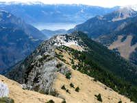 Ridge and precipice