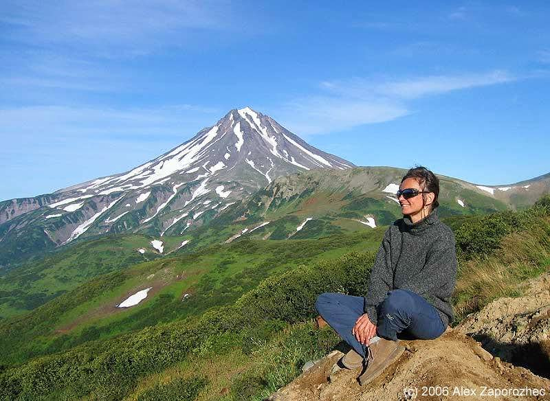 Vijluchinskij volcano
