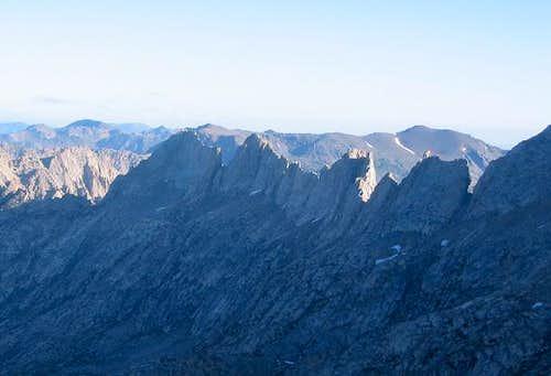 Sawtooth Ridge seen from...
