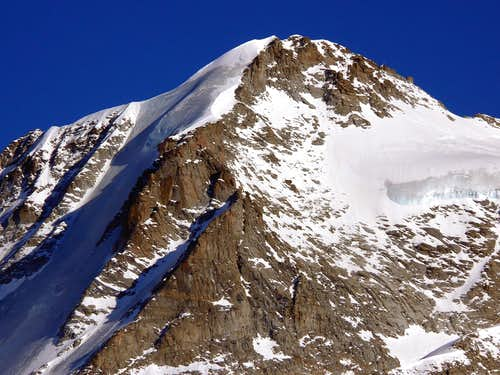 Il versante ovest del Gran Paradiso (4061 m)