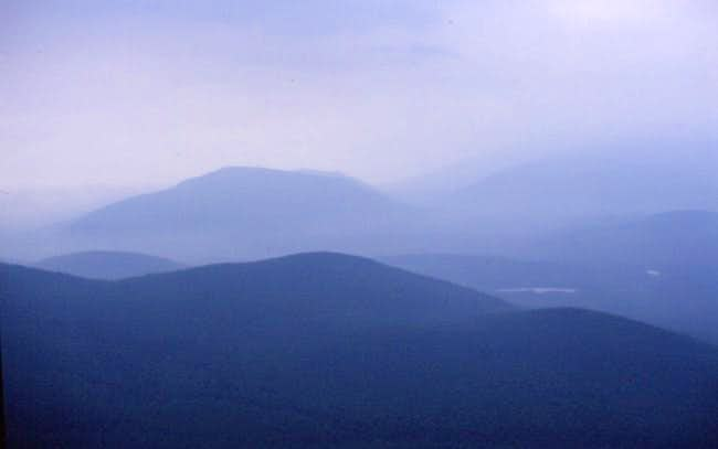 View south from the Traveler