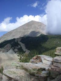 West Spanish Peak with a...