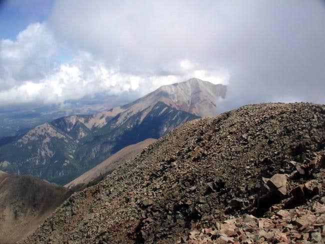 East Spanish Peak from near...