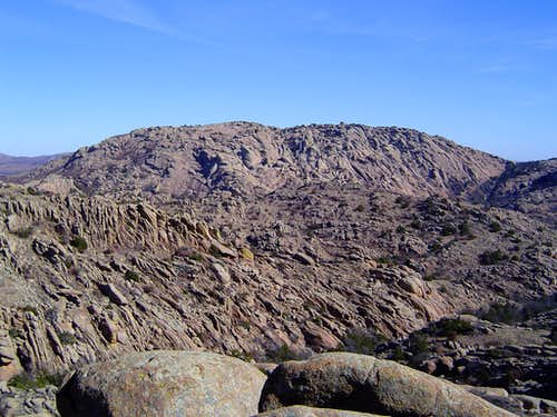 Elk Mountain above the Charon\'s Garden Wilderness.