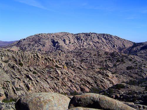 Elk Mountain above the Charon's Garden Wilderness.