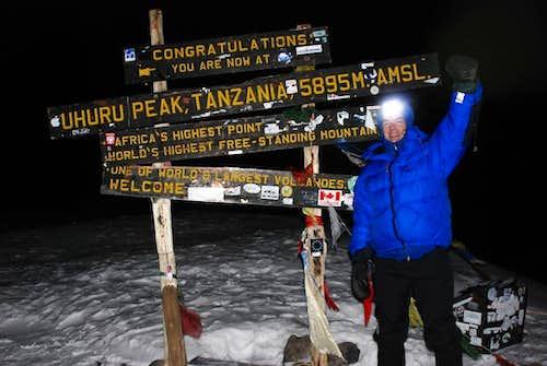 Uhuru Peak, Feb 14, 2007