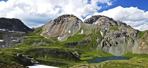 Upper Ice Lake Basin