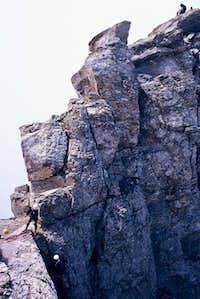 Stefani's summit ridge