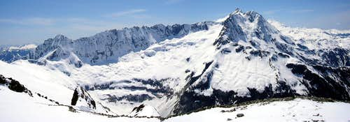 Mount Shuksan Panorama from Ruth Mountain