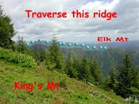 Elk Mountain as seen from...