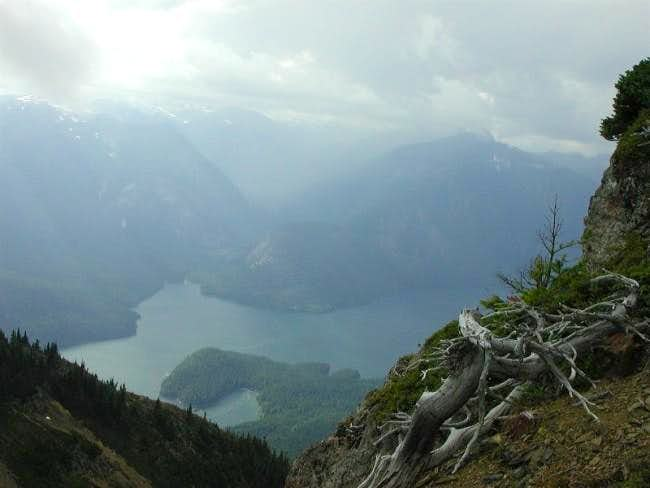 Ross Lake around the area of...