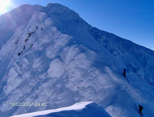 Serbota peak , Fagaras mt, 2331m
