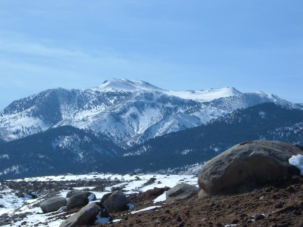 Mount Rose wide view