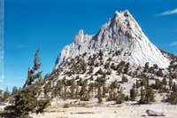 Cathedral Peak from base