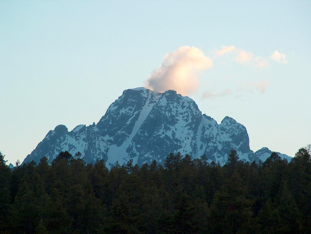 Mount Moran Impersonating a Volcano