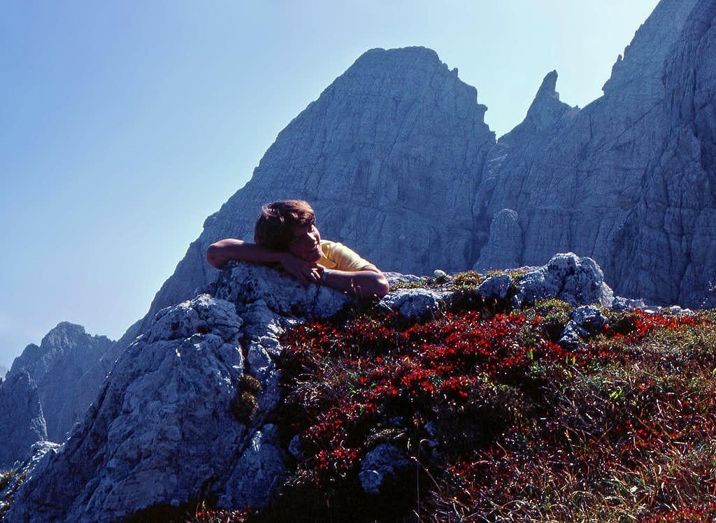 On the summit of Nabojs - Vis...