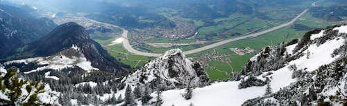 Naunspitze Panorama