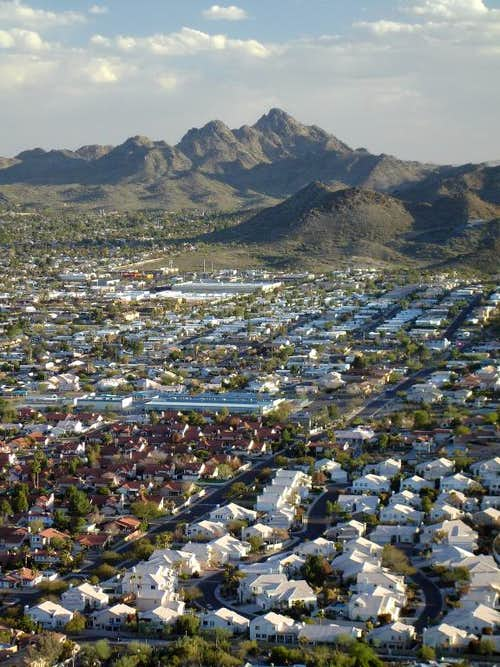 Phoenix Mountains and Neighboring Ranges