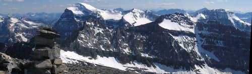 Panorama from Storm Mountain