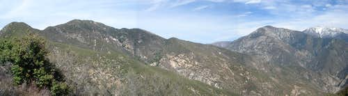 Rattlesnake East Ridge Panoramic