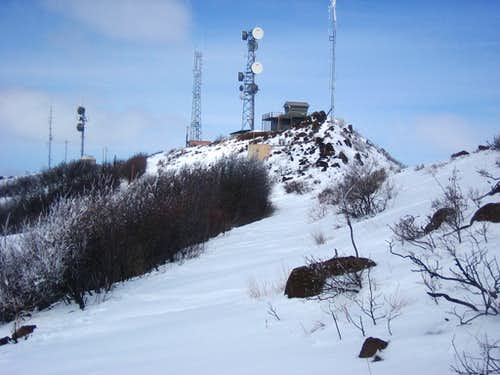 Squaw Butte Summit