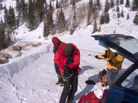 Lincoln Falls ice trip