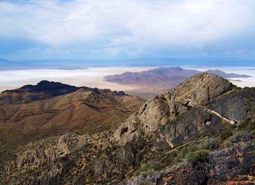 View North from Graham Peak