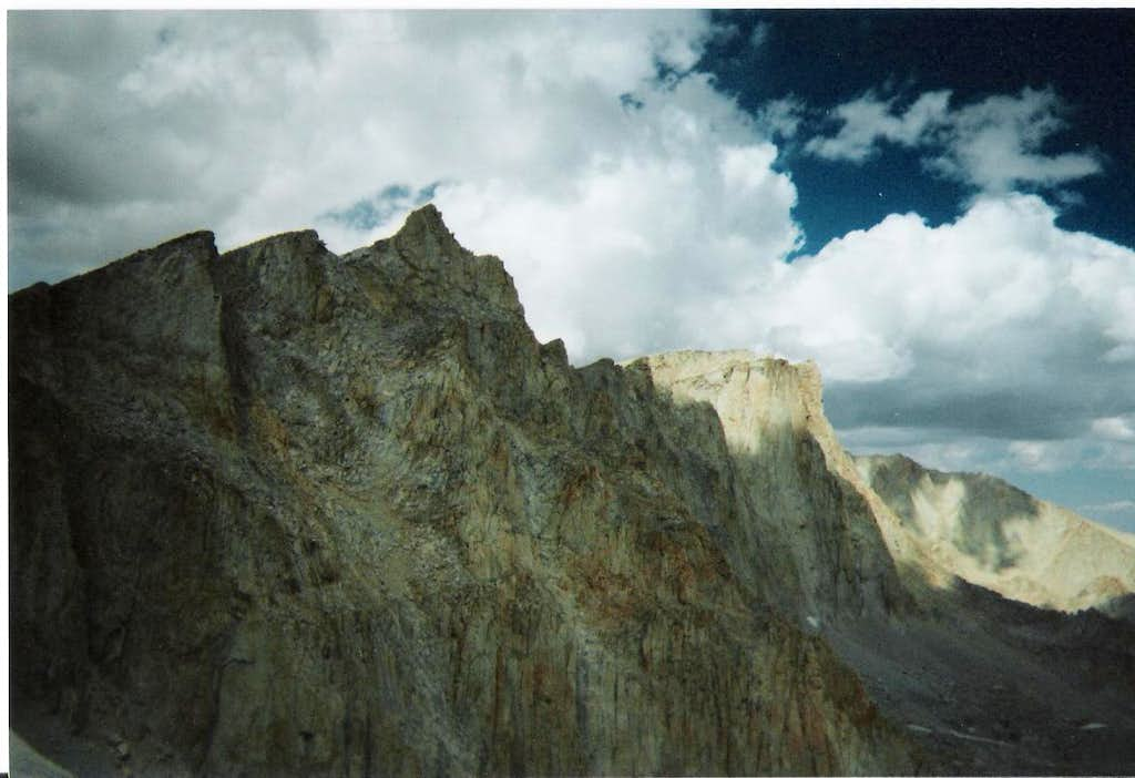 View of Mount Whitney and Muir
