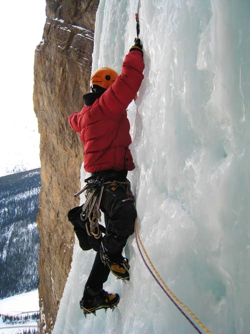 Icefield Parkway Ice Climbs