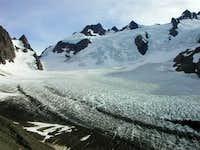 Blue Glacier from the Moriane