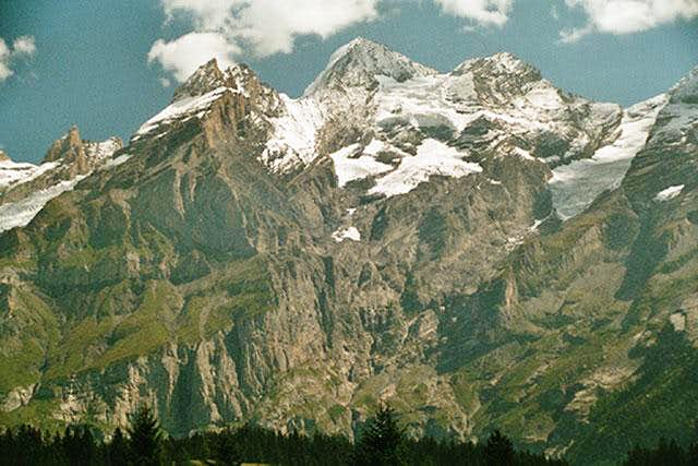 Blüemlisalp seen from