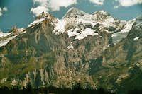 Blüemlisalp seen from