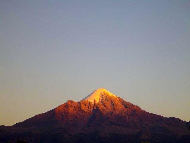 Sunset on Orizaba