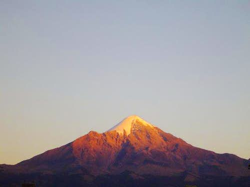 Sunset on Orizaba
