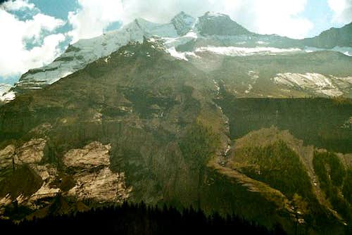 North face of Doldenhorn. The...