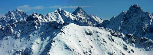 High Tatra panorama