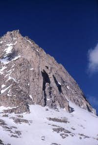 The north face of Peak...
