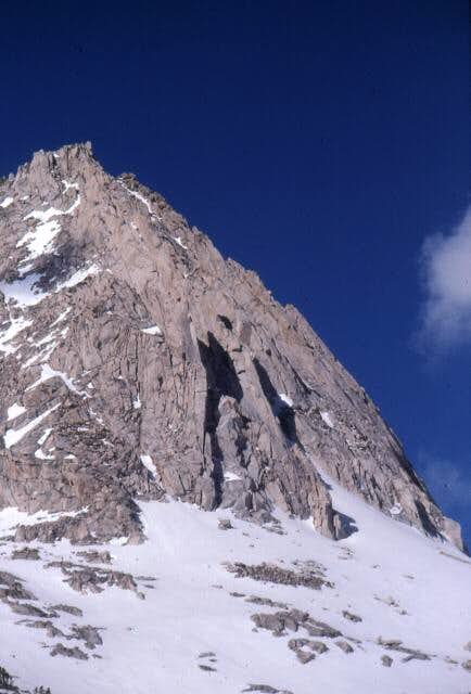 The north face of Peak...