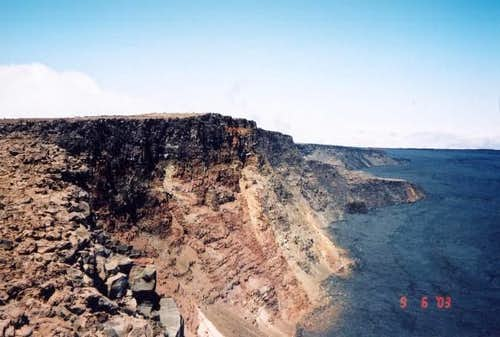 Mokuaweoweo caldera from...