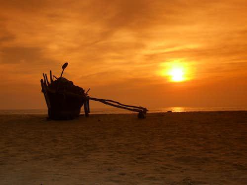 Goan sunset