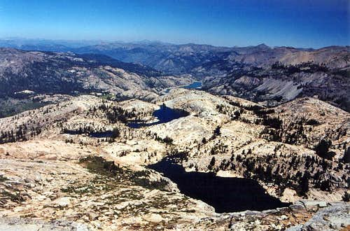 Lakes on Granite Dome