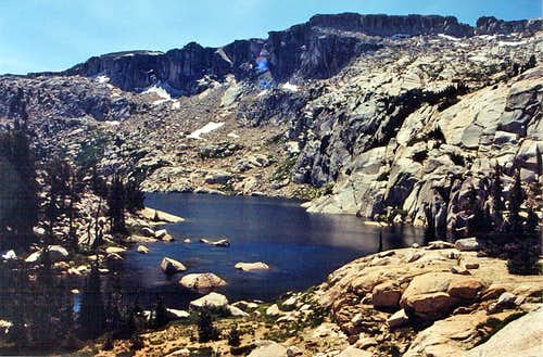 Granite Dome and Ridge Lake