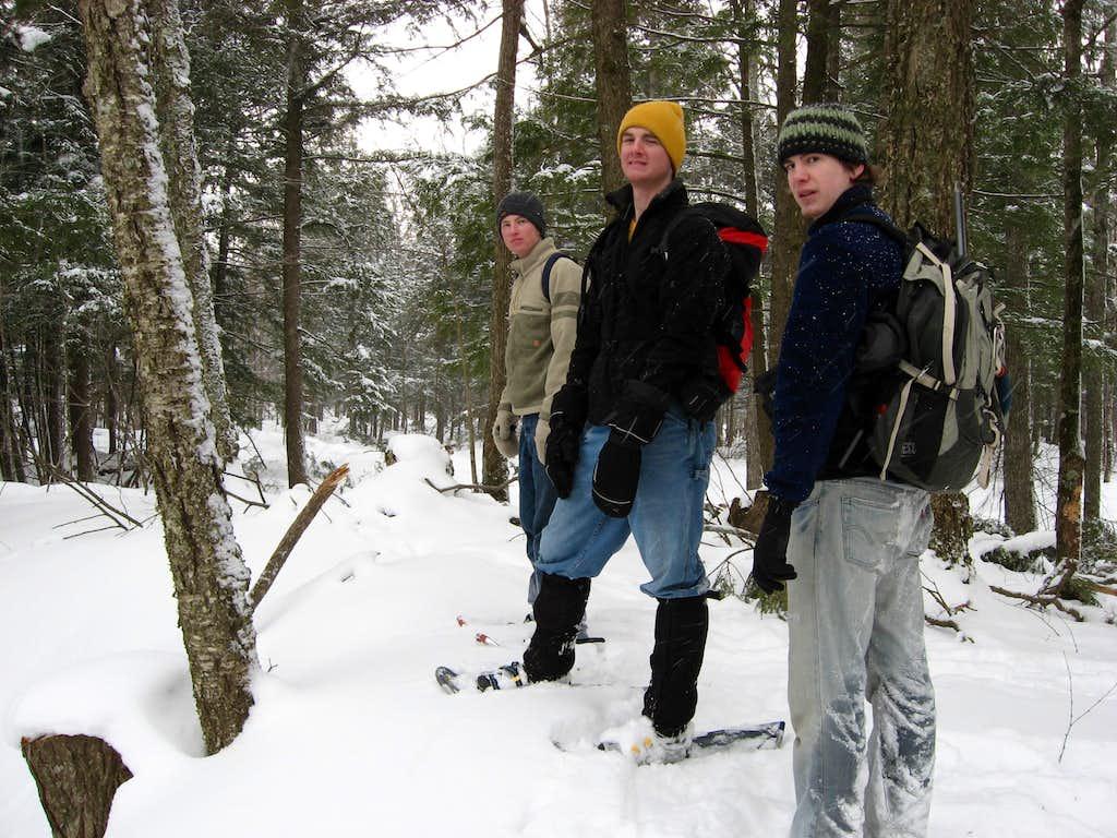 Mount Arvon Winter Attempt