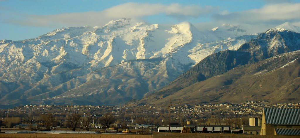 Lone Peak from Orem
