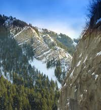Eastern section of Provo Canyon