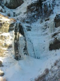 Ice Wall in Provo Canyon