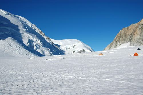 Col du Midi and Dôme du Goûter