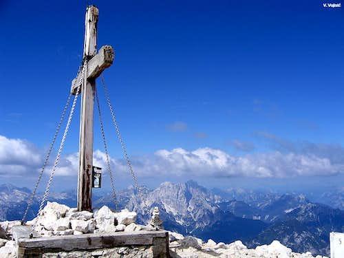 Mangart summit