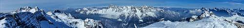 Prestreljenik summit panorama