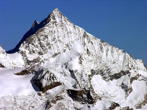 Magnificent Weisshorn (4506 m)
